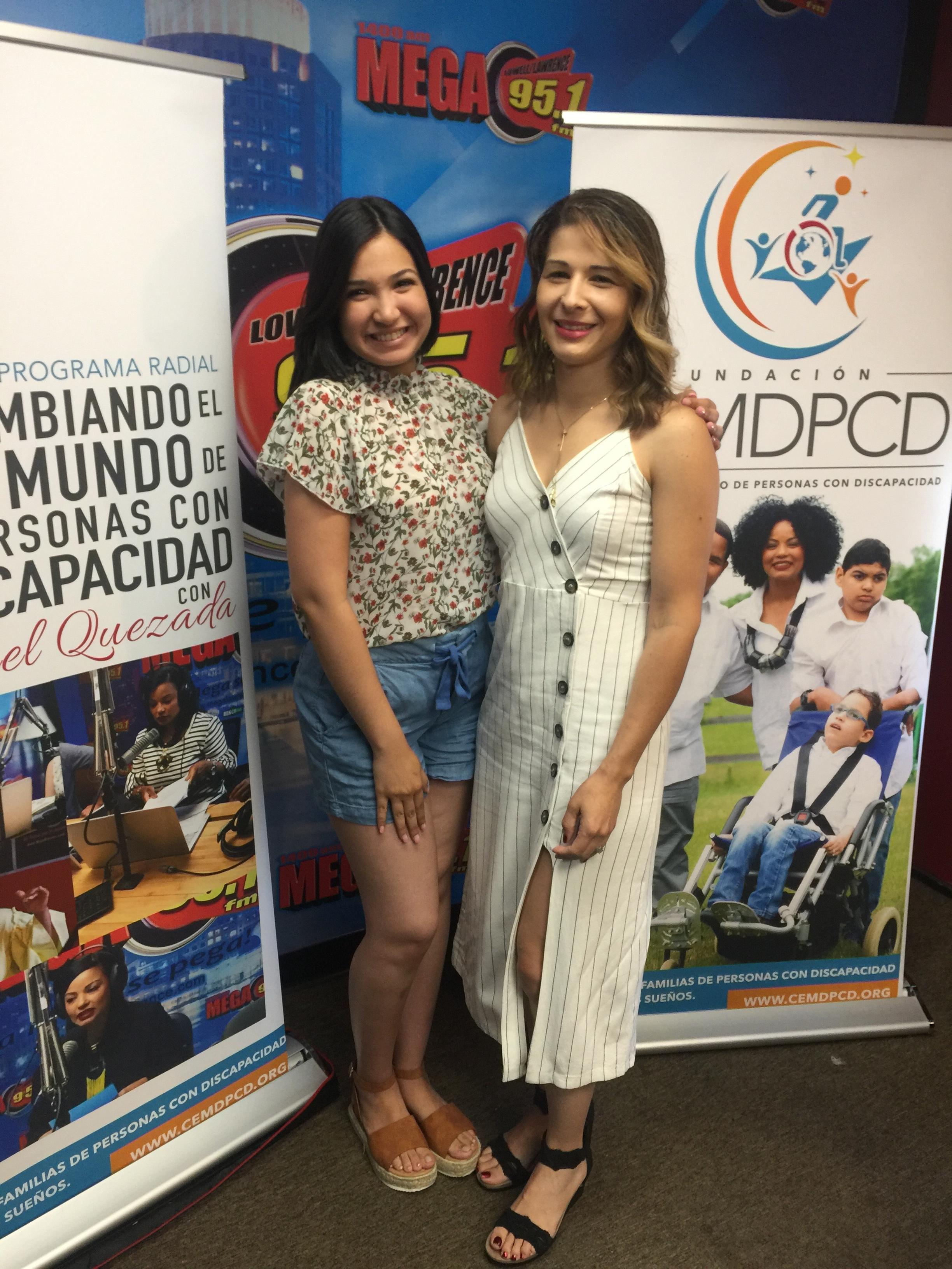Co-hosting with Yamilex Lara, co-host of Cambiando el Mundo de Personas con Discapacidades Radio Show.