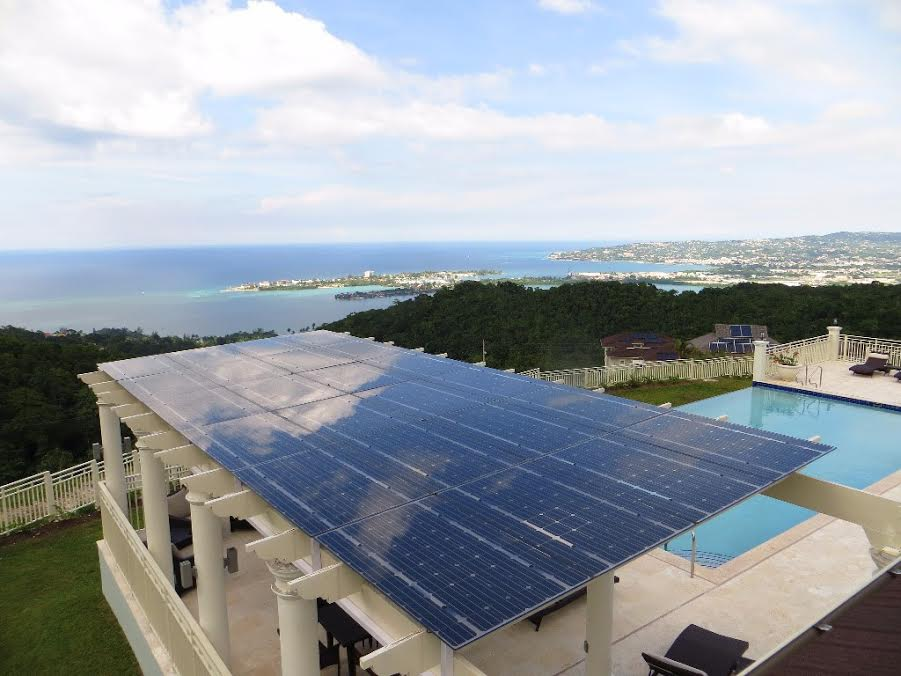 A Solar roof provides renewable energy!
