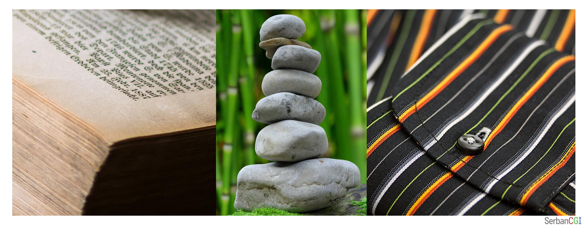 Materialele precum hârtia, roca si unele textile produc reflexie difuză.