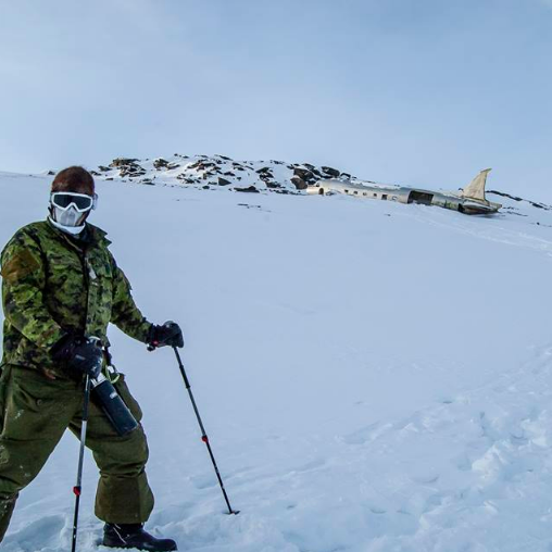 Exercise Arctic Bison 19.  Photo taken by Cpl Miguel Moldez.
