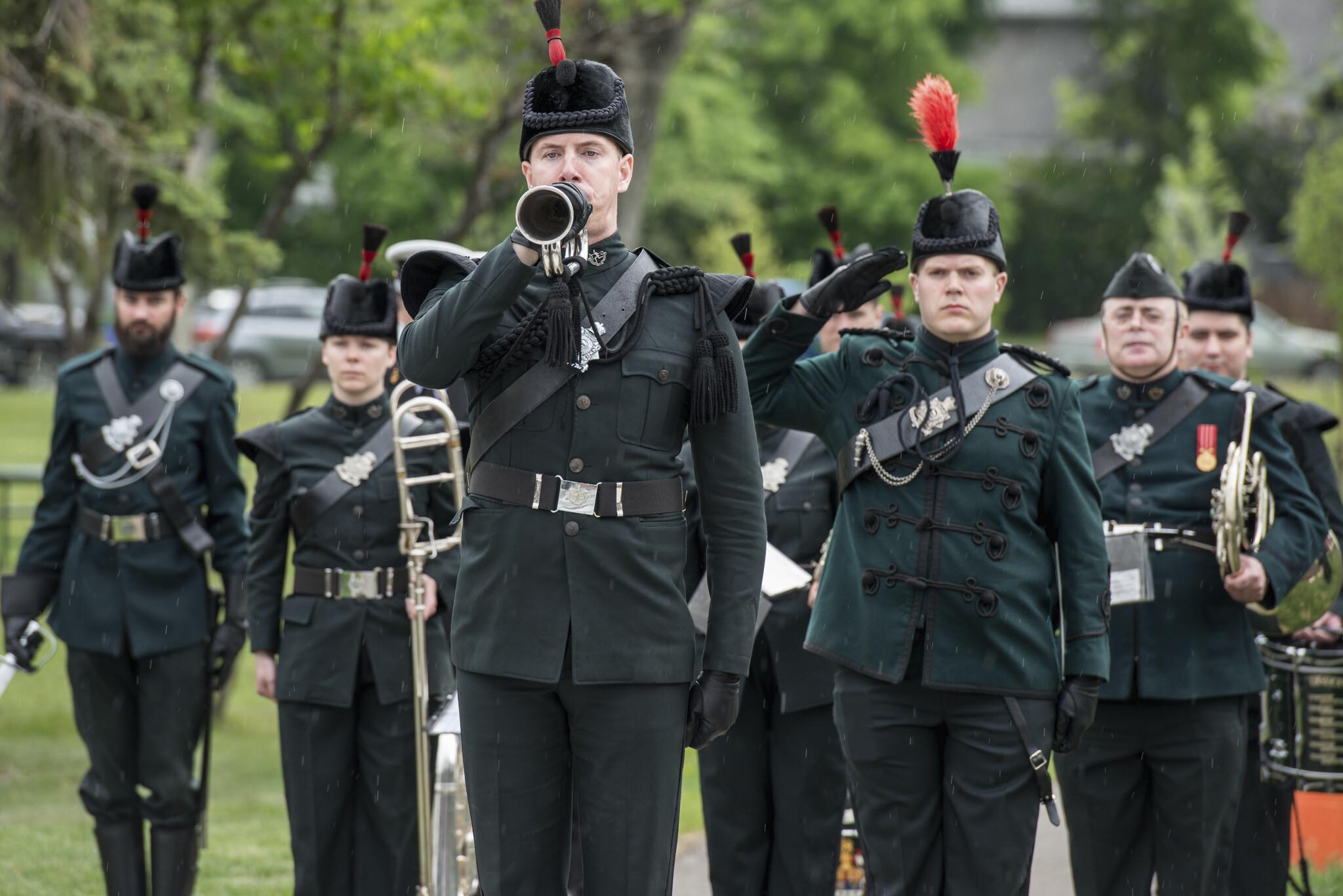 The Royal Winnipeg Rifles Band.
