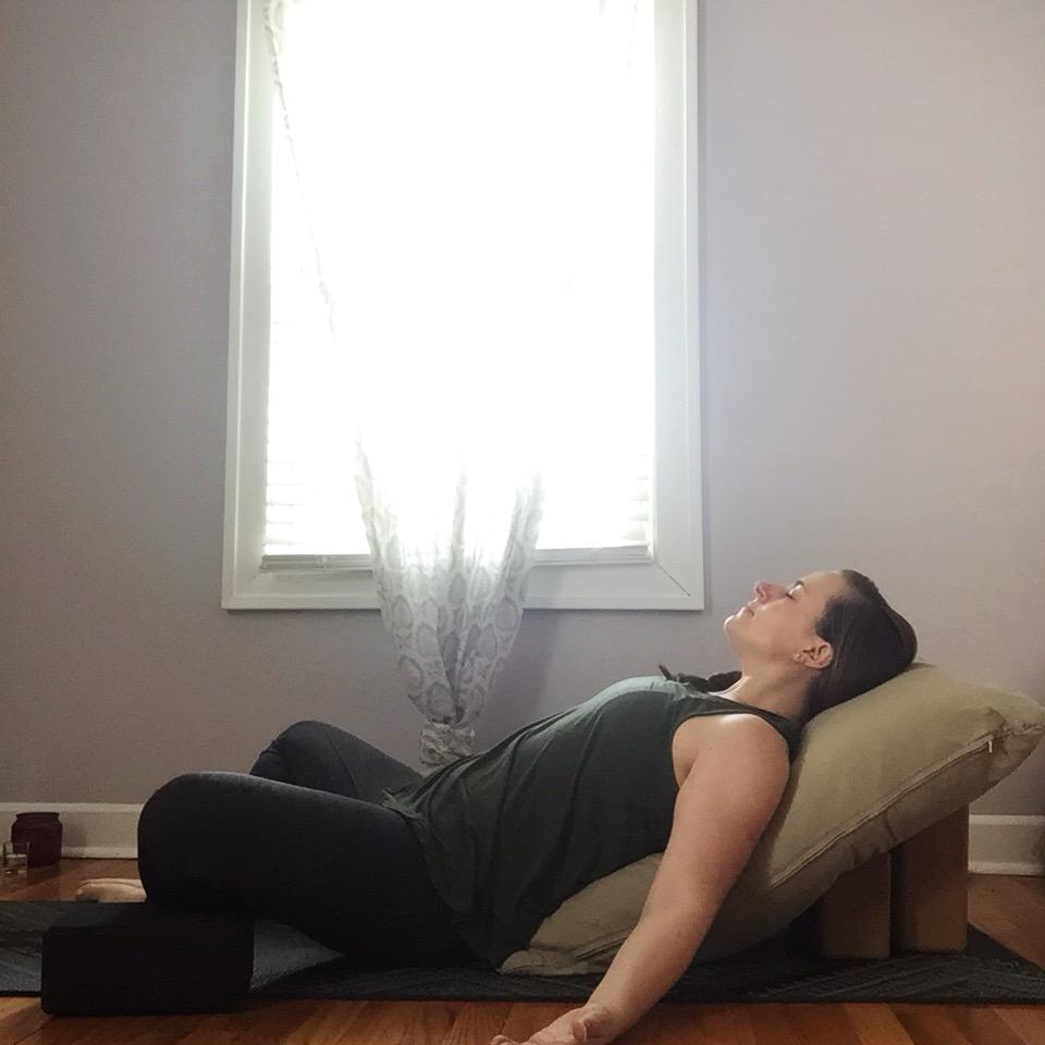 Restorative Yoga 101 via emmiscott.com