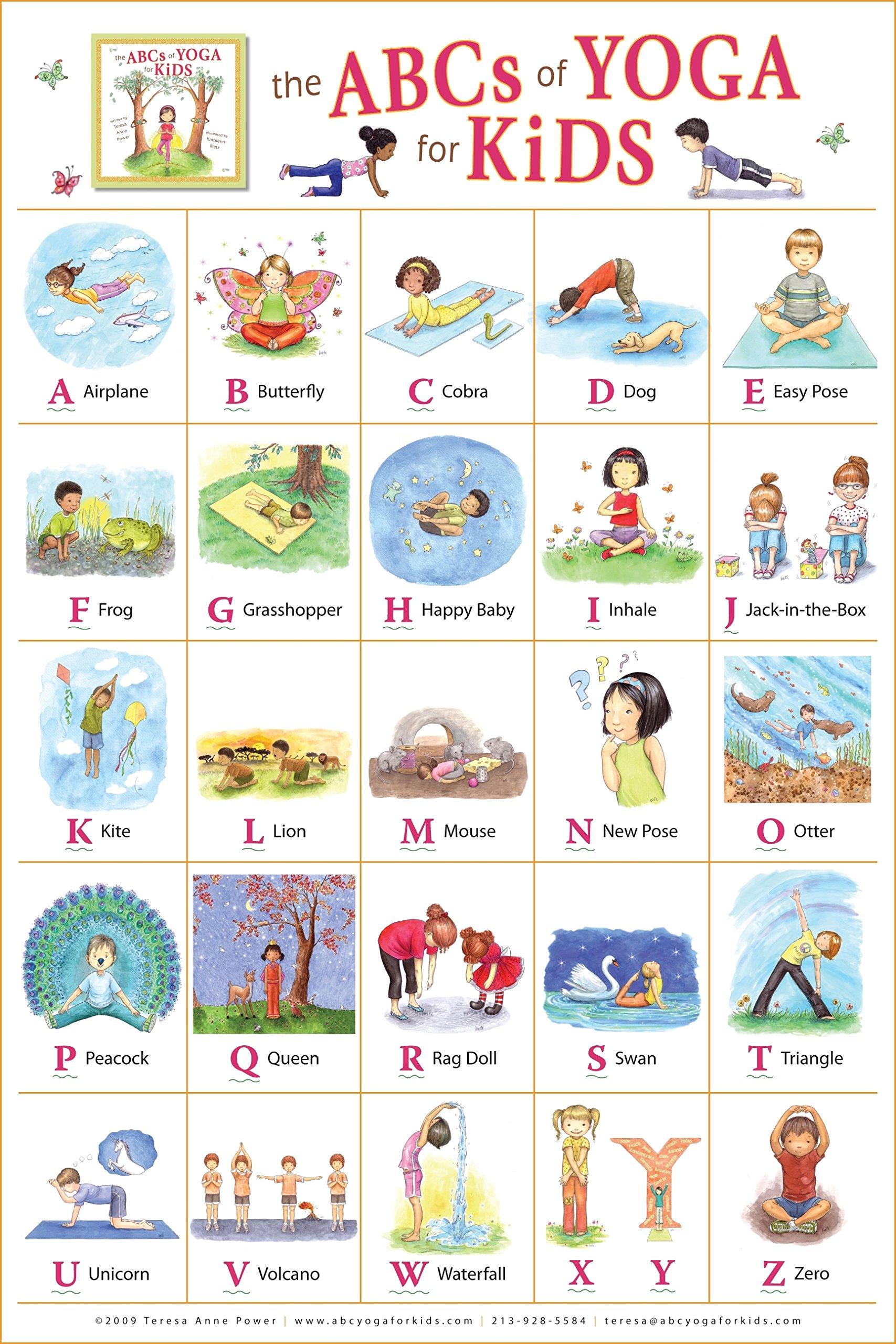 10 Adorable Kids' Yoga Products - via emmiscott.com