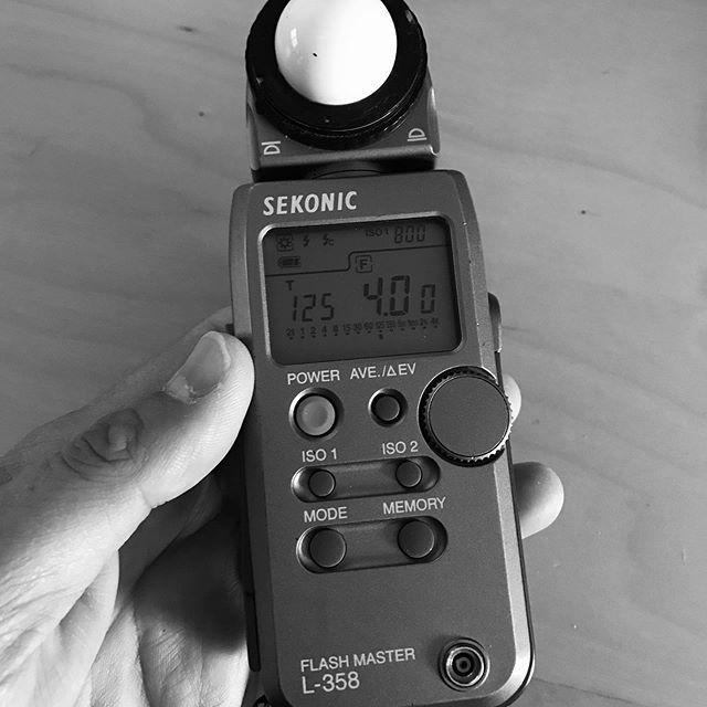 There is a cool story behind this light meter. The first thing is that it is now 16 years old. I was fortunate enough in film school to be one of 5 cinematography students to be awarded a coupon for one of these light meters, which at the time was valued at $600.  I've used it in my career ever since. Does not matter with all the advancements in digital cinematography, I always use it.