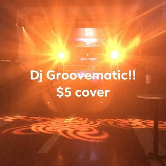 $5 cover  doors are open come get a drink and hear some great music with a crazy light show!!!
