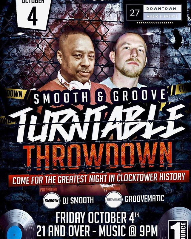 Don't miss out on a crazy dj battle tomorrow's!!!