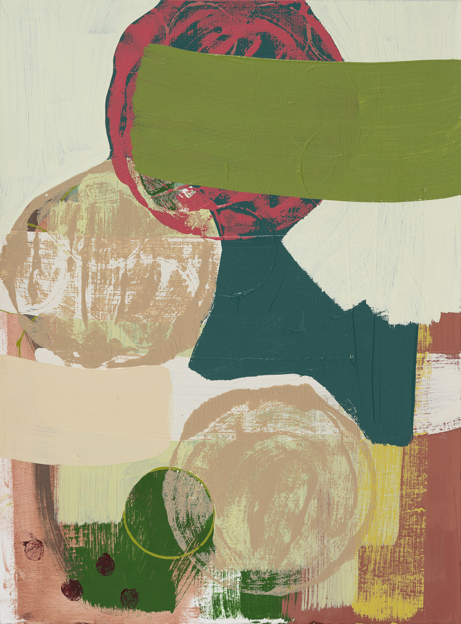 Untitled 2 (green/pink)