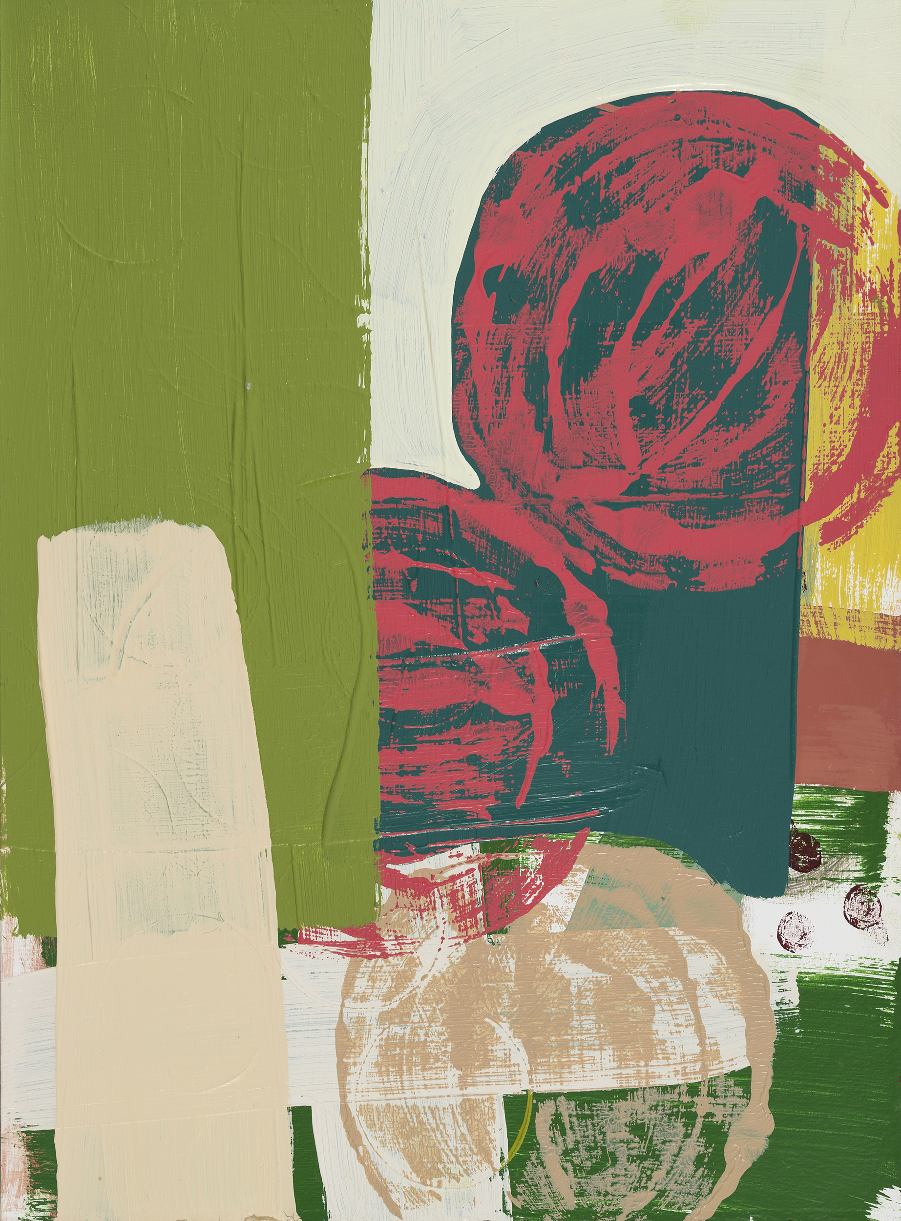Untitled 1 (green/pink)