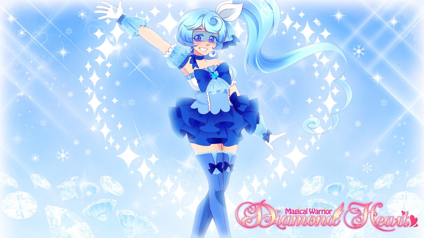 Sapphire Heart, from 'Magical Warrior Diamond Heart'