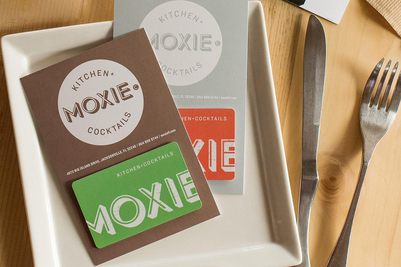 Give someone a little Moxie - Gift cards available.