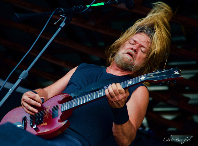 Pepper Keenan of Corrosion of Conformity