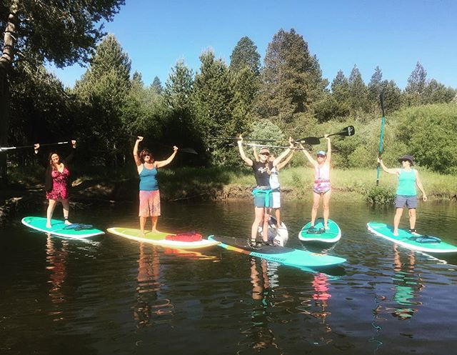 Ladies Mornings are the best. We paddle, we talk, enjoy nature and always come back for more. See you next week. Special surprise, refreshments at the rope swing!