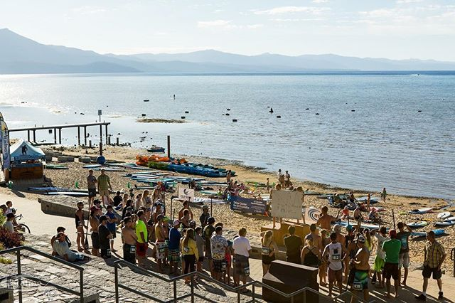 #WednesdayNightSupSeries tonight! Come race!! 7 total races left this summer, happening every Wednesday July 11 - Aug 22.  Where: El Dorado Beach, South Lake Tahoe, CA  When: Registration opens ...... 5:30pm Registration closes ..... 6:15pm Paddlers Meeting ...... 6:20pm Race Start ................. 6:30pm Dinner and Awards ..... 7:30pm  Entry Fee: $25 includes dinner  #SouthTahoeStandupPaddle #SouthTahoeSUP  Tag your friends!