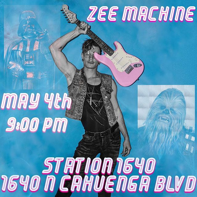 Playing with this amazing band tonight. Zee machine is killin it. We play at 9pm. I have pre sale tickets left for $10 - dm me. Or it's $15 at the door. Hope to see some of you out. . . . . #live #music #hollywood #bass #drum #synth #cahuenga #saturday #tonight #LA #CA