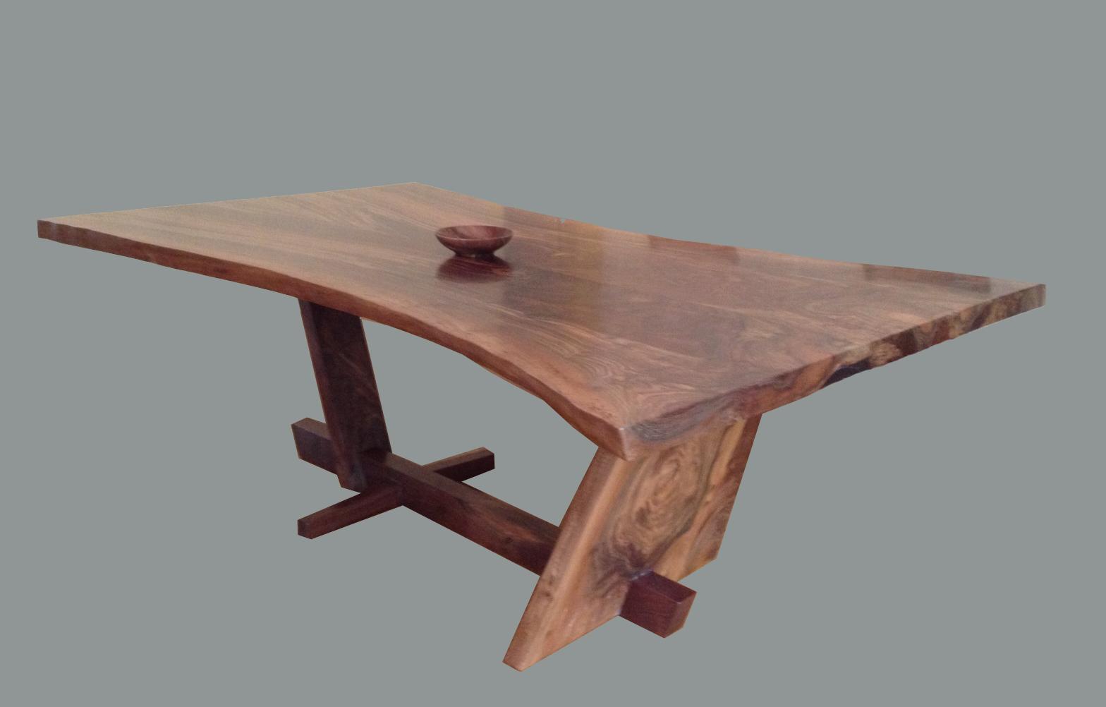 California Walnut Dining Table