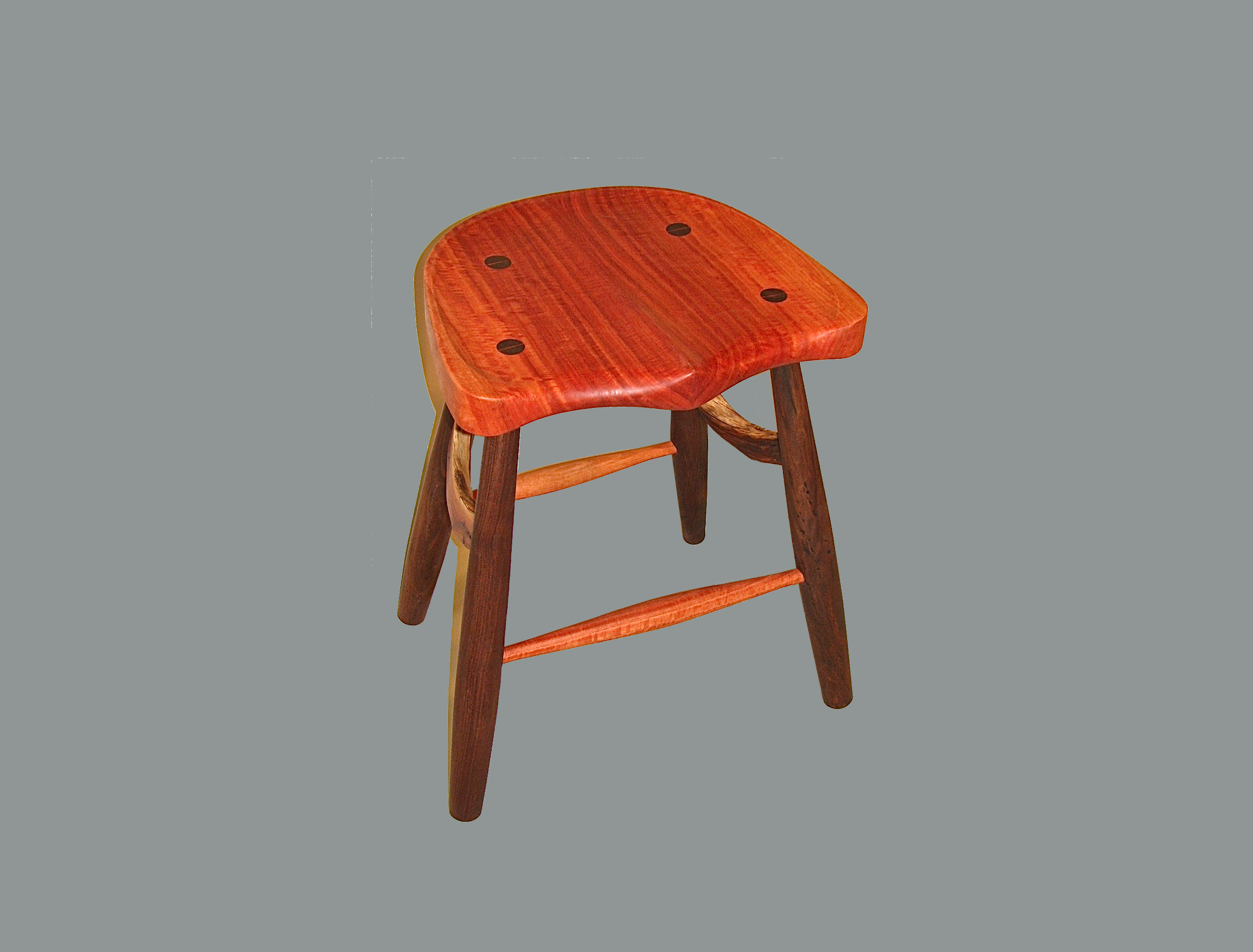 Red Gum with Carved Seat