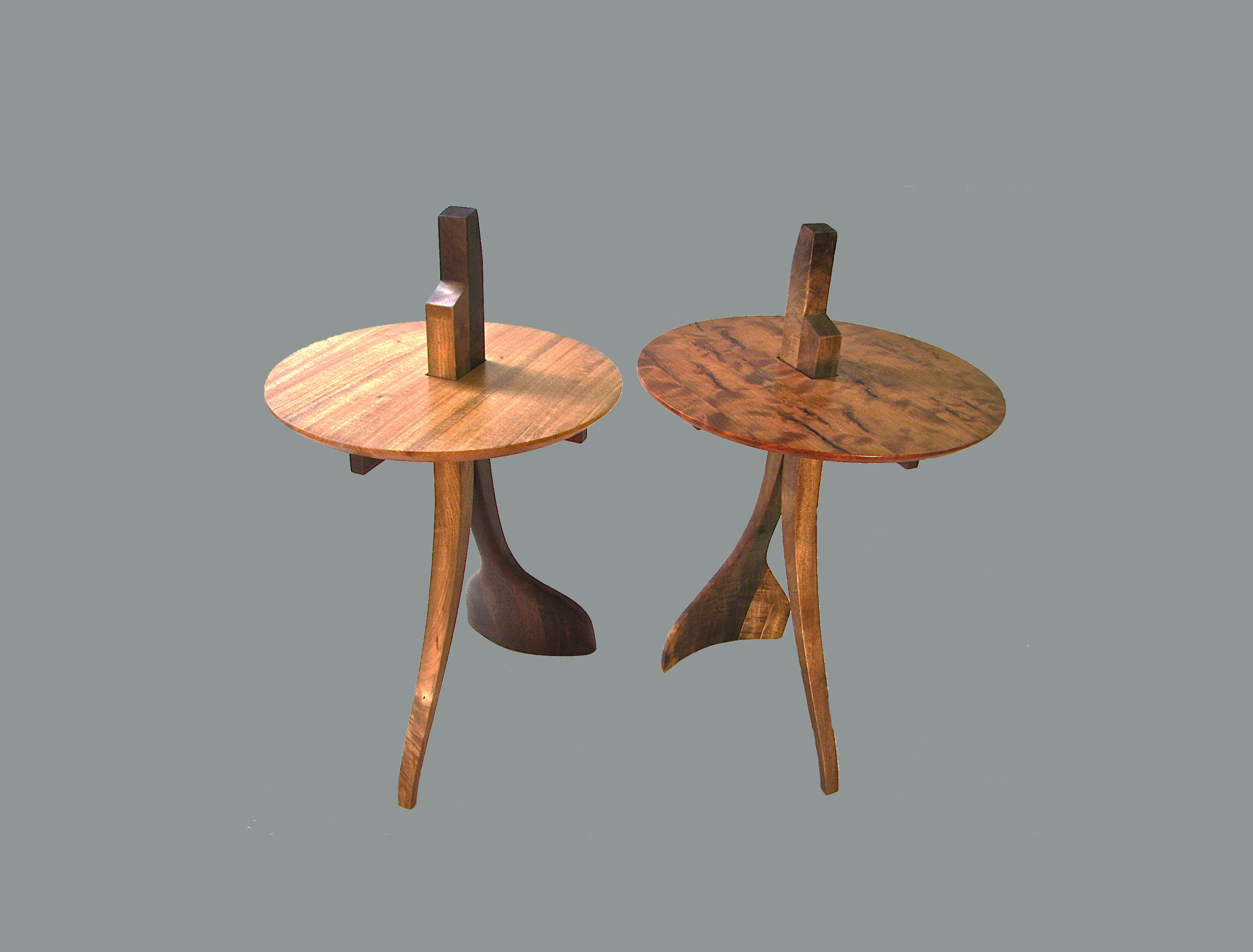 Whale Tail End Tables