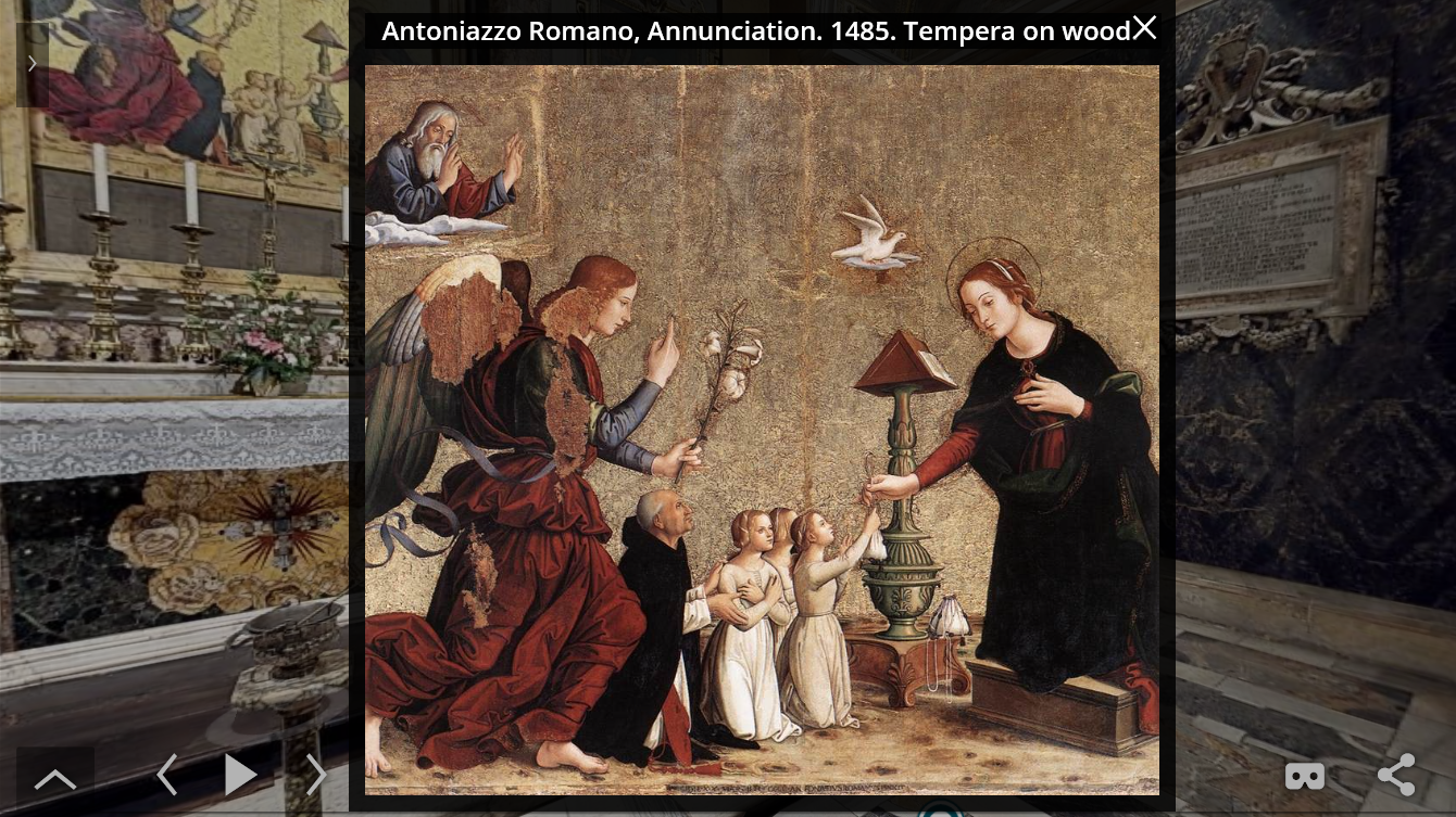 View an artwork in its original context & in high-resolution zoom
