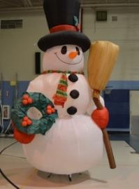 January 2018 Snowman Dance