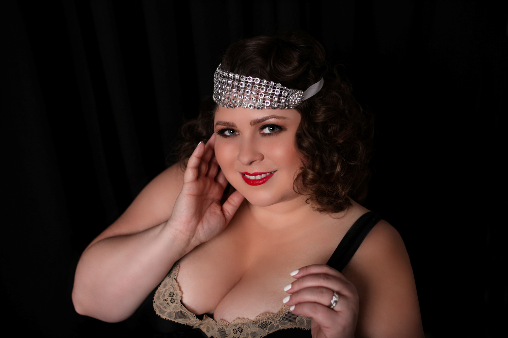Chicago-Pinup-Boudoir-Photographer-Karina-Velez-Flapper
