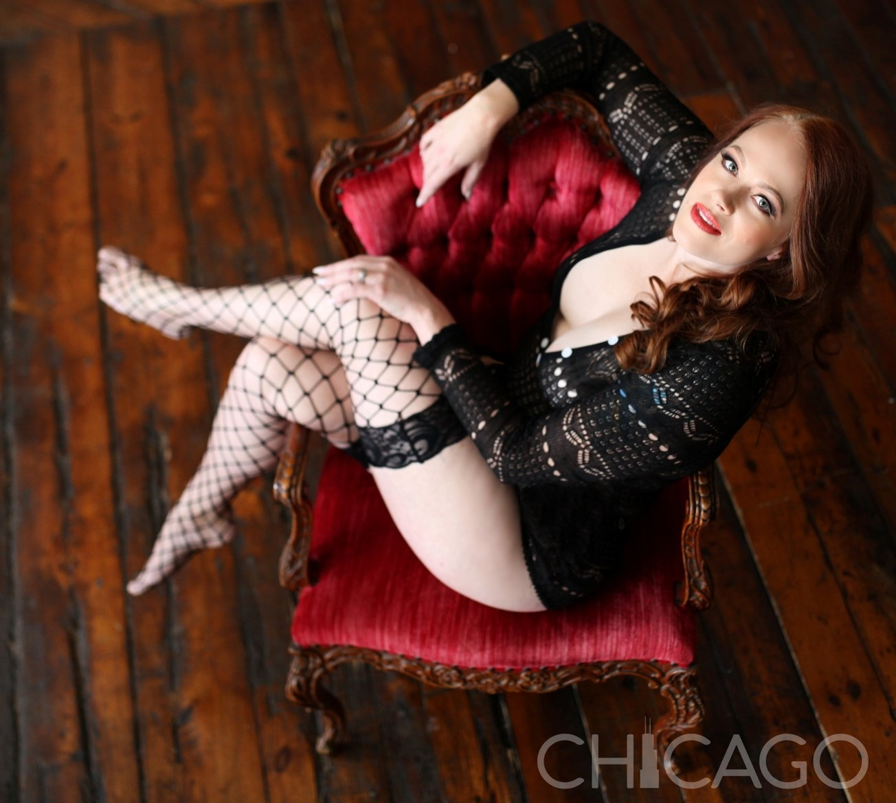 Chicago-Pinup-Boudoir-Photographer-No-Regrets-Red-Chair