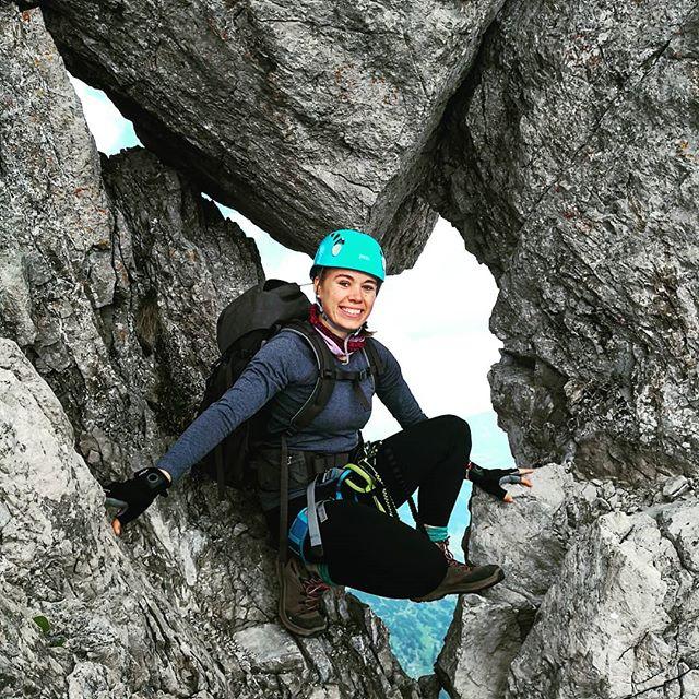 Heute ging es zum ersten Mal für diese Saison auf den Klettersteig. #hindelangerklettersteig . Ich wusste gar nicht mehr wie verdammt schön es hier oben ist! . . #bergliebe #klettersteig #kletterwochenende #hindelangerklettersteig #oberstdorf #nebelhorn #mikroabenteuer #dreitageweg #bergschulekleinwalsertal #kleinwalsertal #klettern #bergwelten #bergfreunde