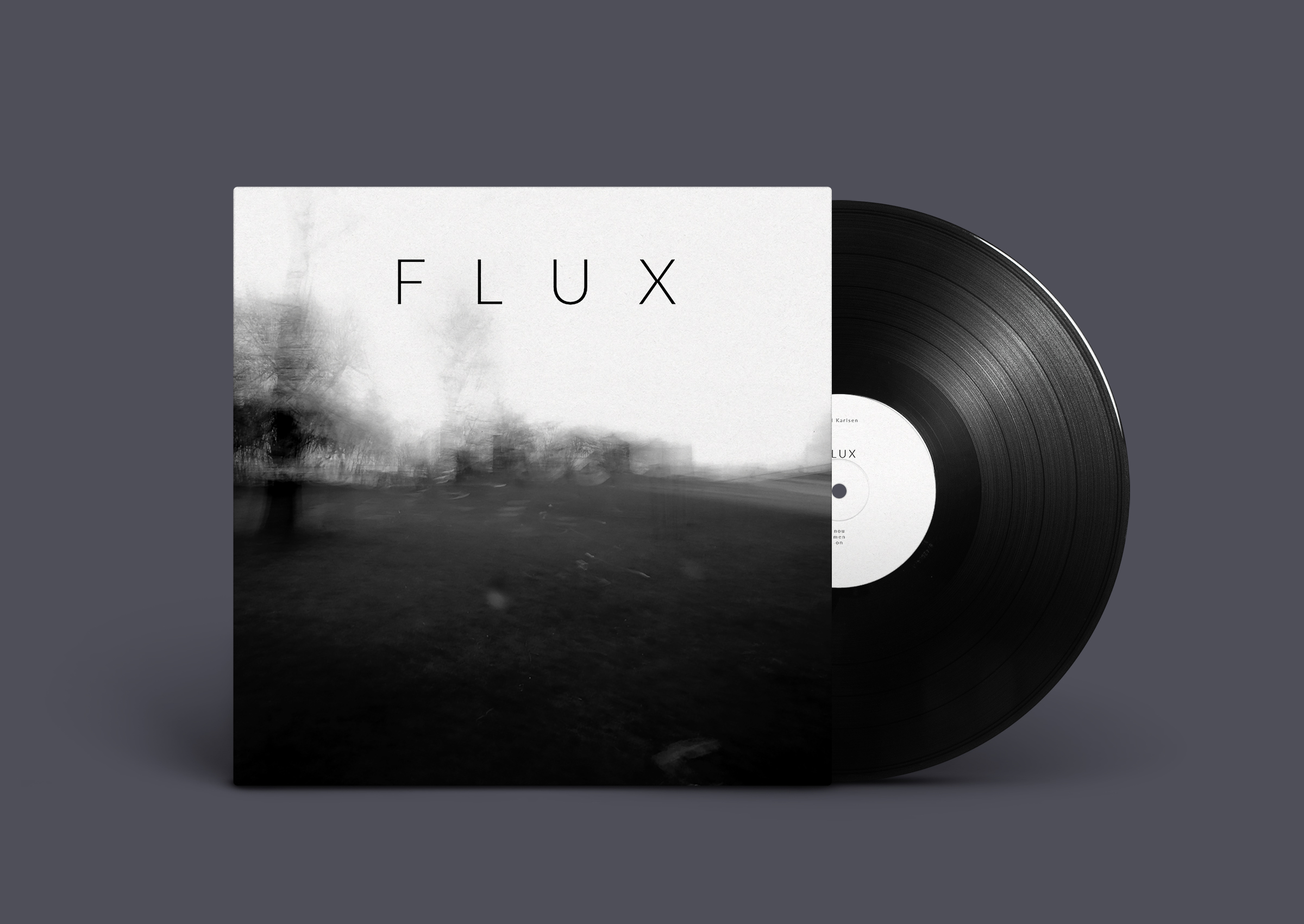 acoustic solo record FLUX available on 180gram vinyl