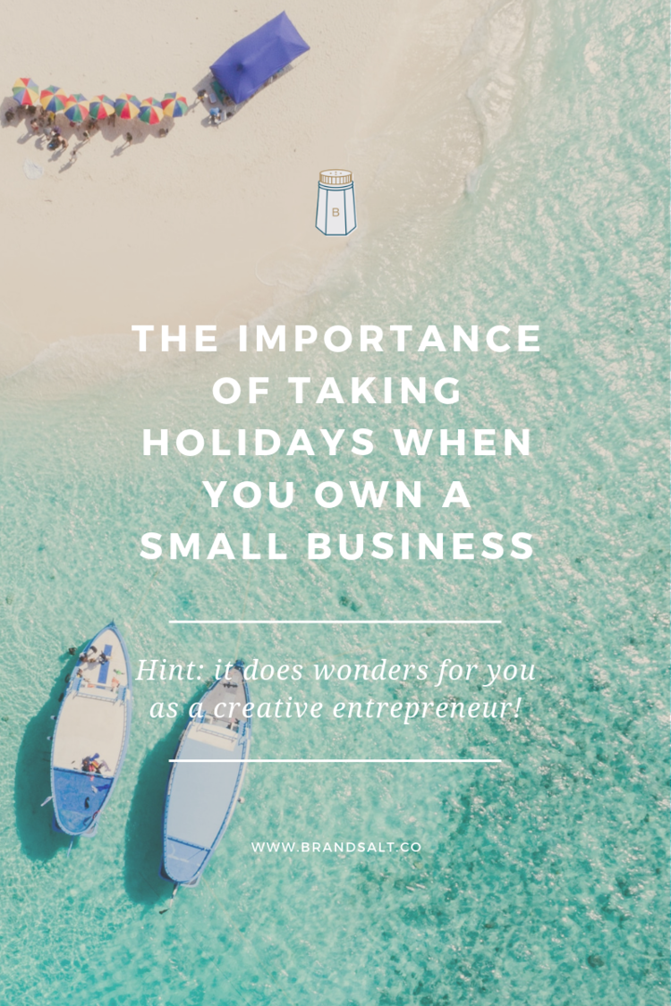 The importance of taking holidays when you own a creative business