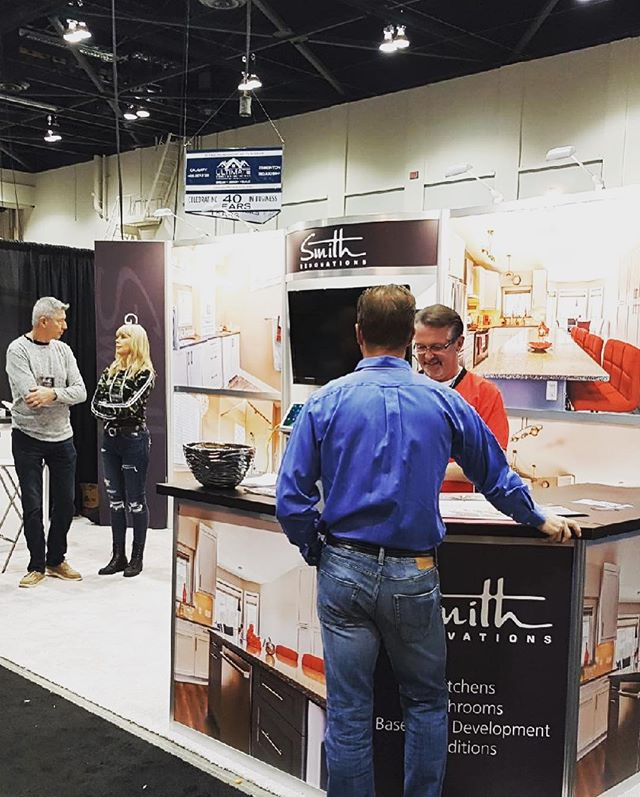 A big thanks to everyone who came to the Calgary Renovation Show at the BMO Centre this weekend! Bring on the 2019 renovations! 🏠 🔨👌 . . . . @yychomeshows #CRS19 #yychomeshow #calgaryhomeshow #smithrenovationsyyc  #reno #homerenovation #calgaryhome #yychomes  #yycrenovations #yycbuilder #customhomes #customrenovations #designbuild #yycliving #dailyhivecalgary #yycliving #yycdesign #yyccontractor  #expert #customizedsolutions