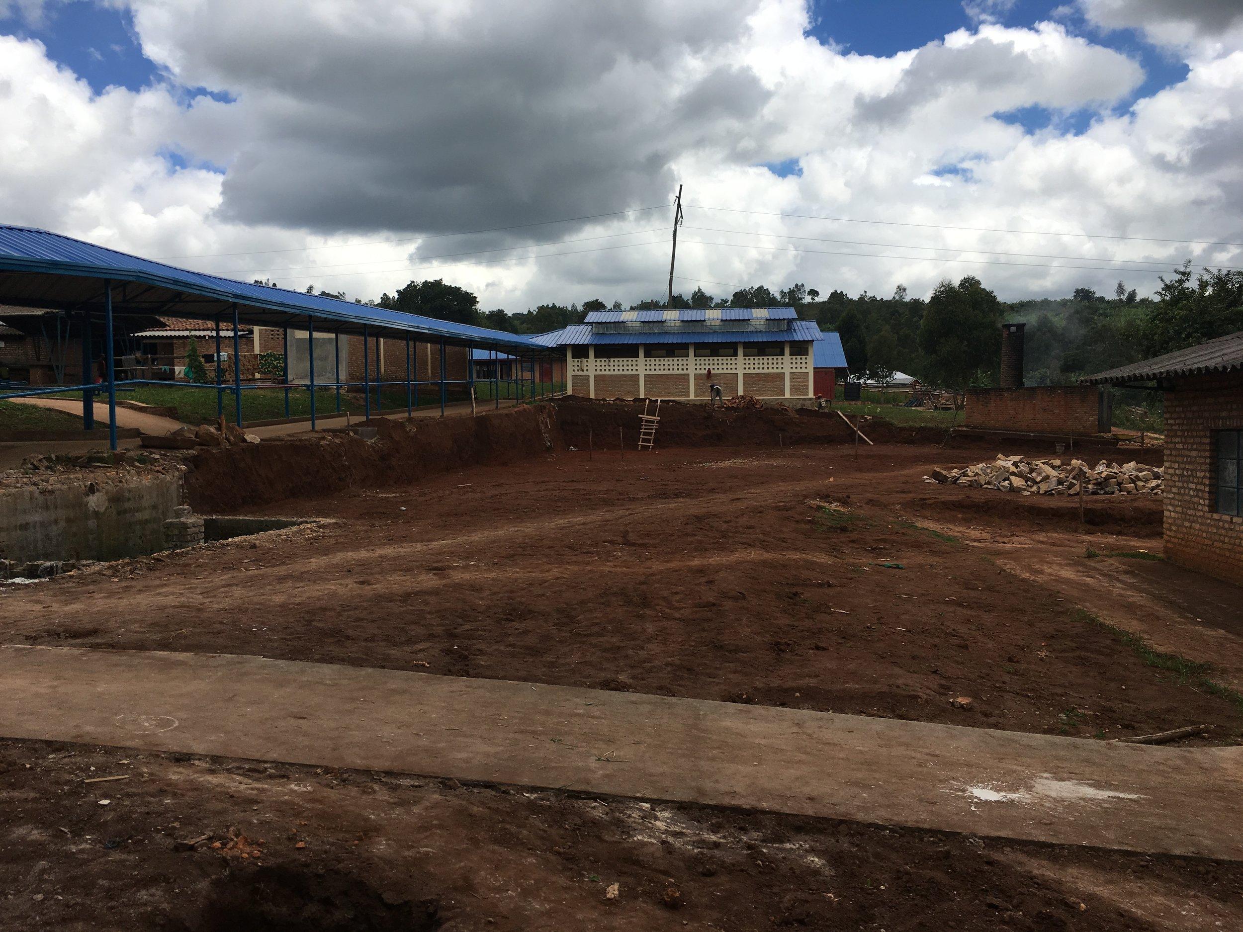 Site graded for Building 20.JPG