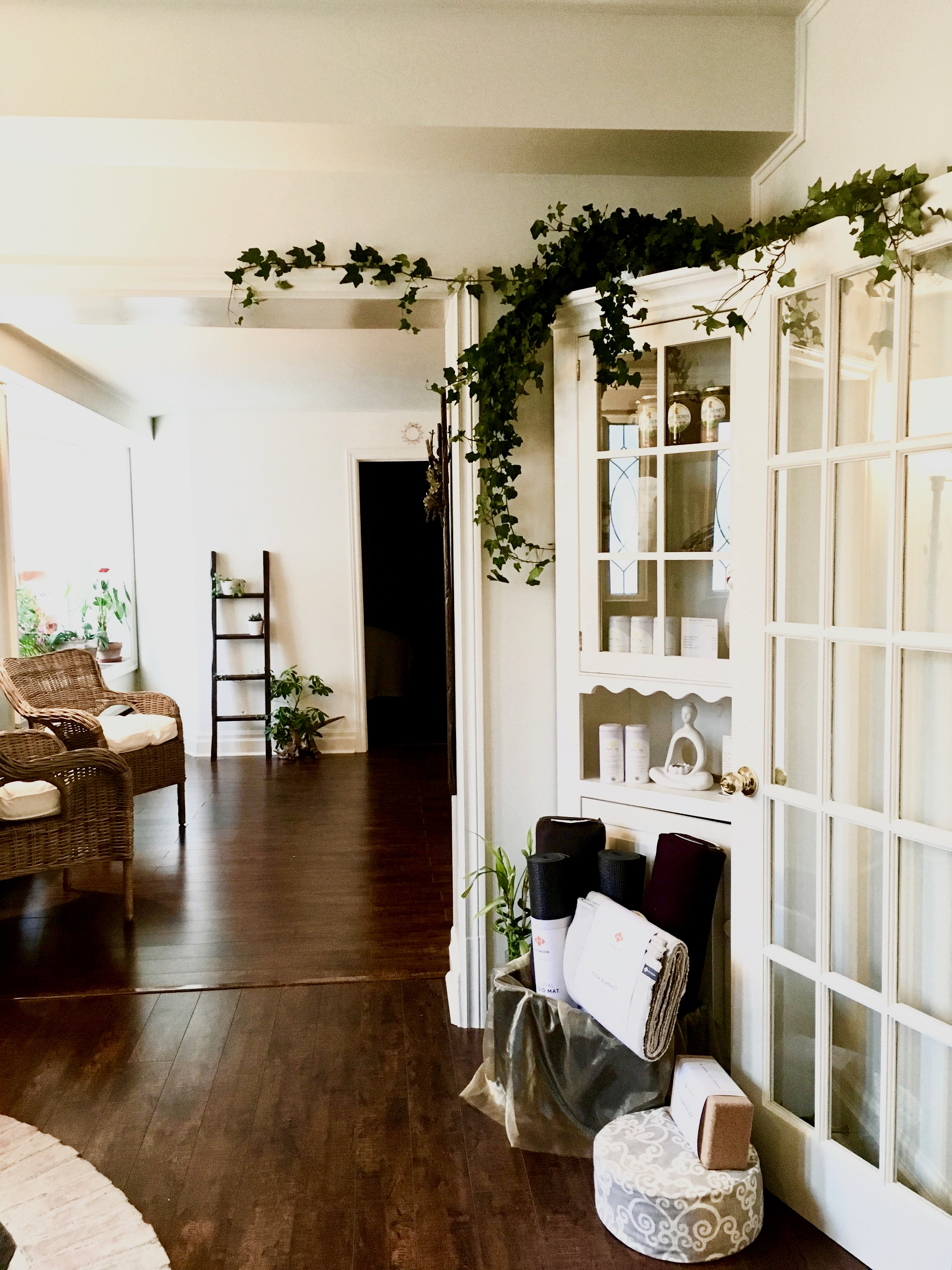 Welcome to our space   INTENTIONS YOGA & WELLNESS STUDIO