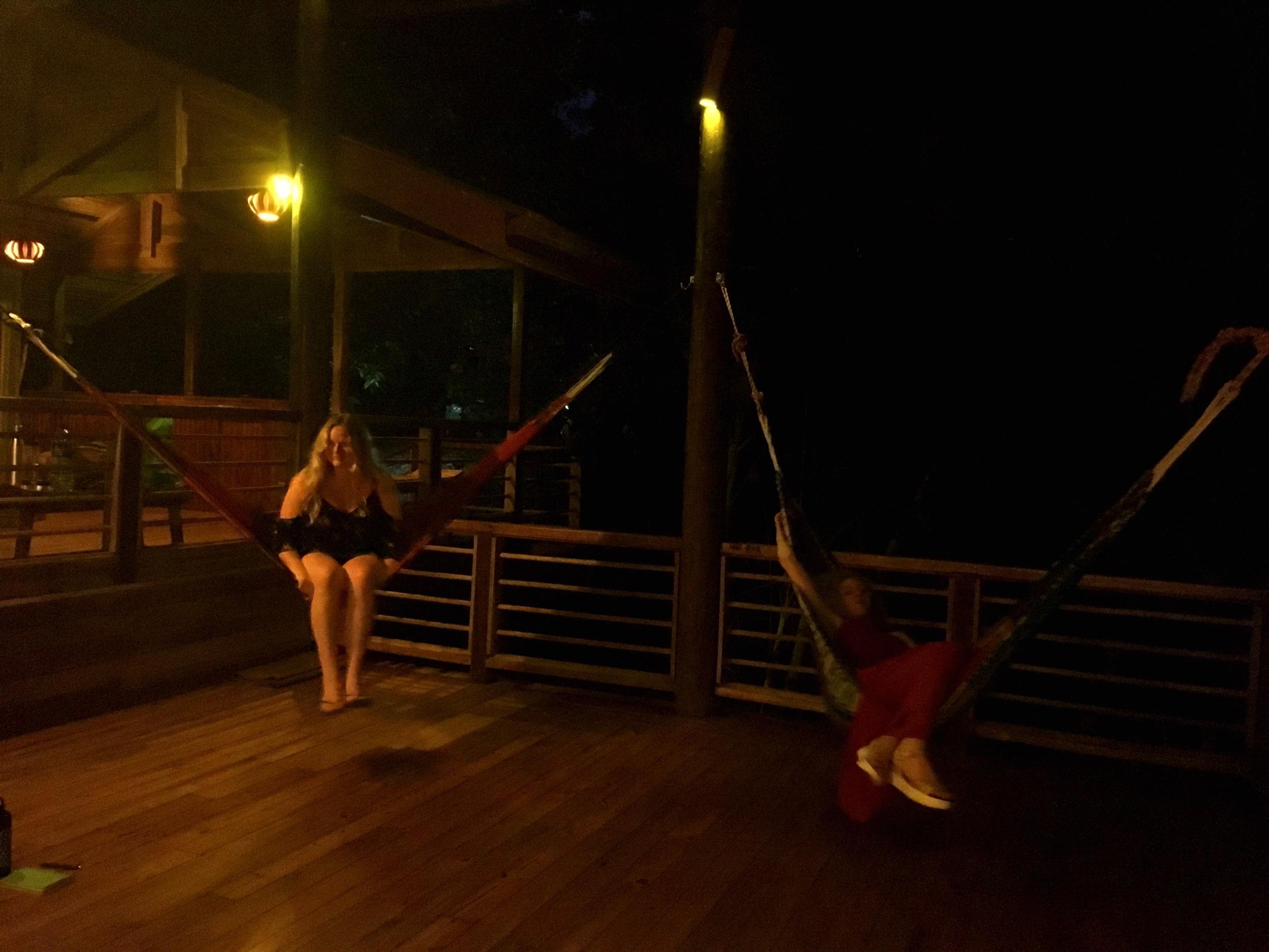 EVENING LOUNGING IN COSTA RICA
