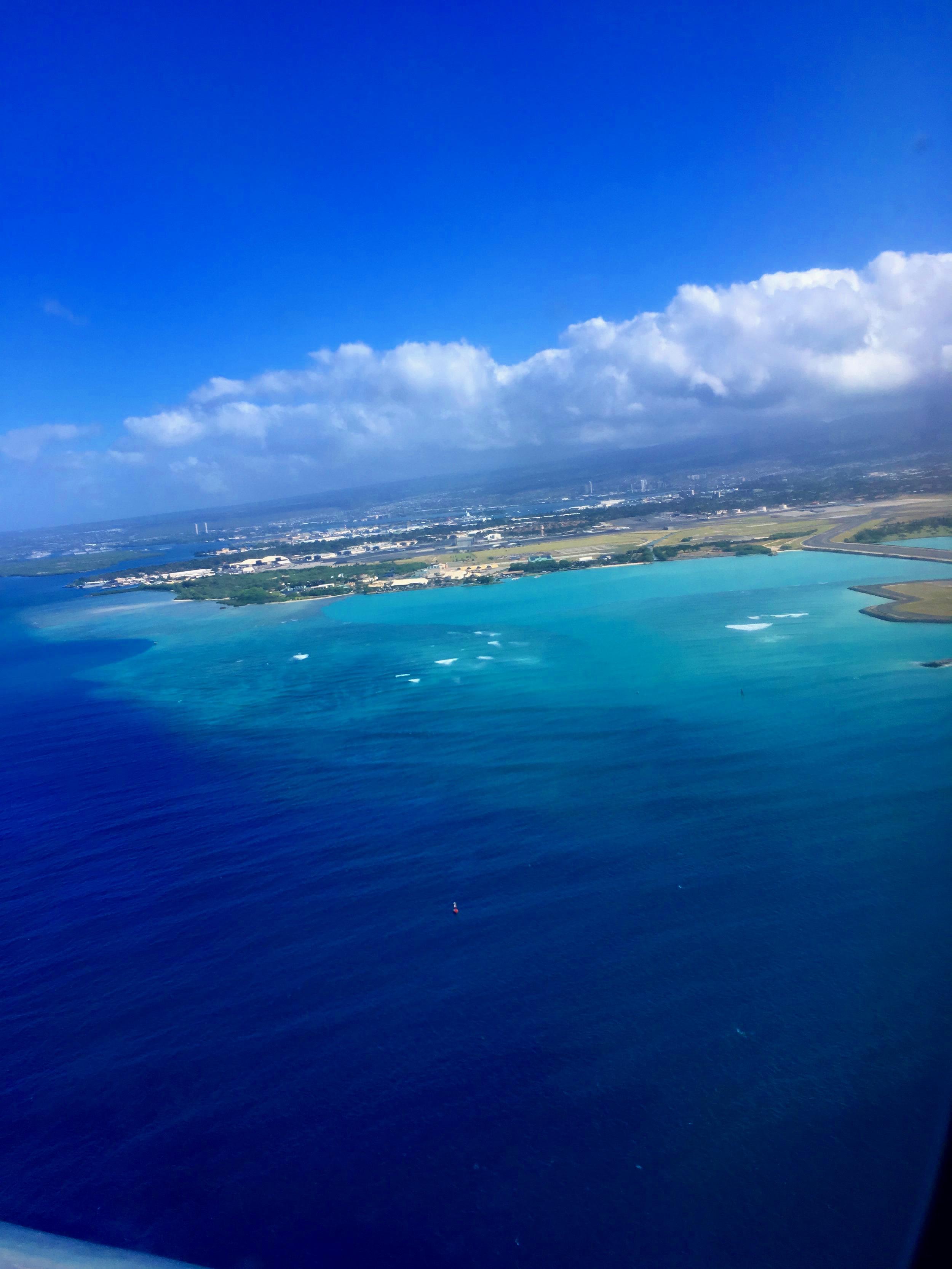 FLYING OVER PANAMA