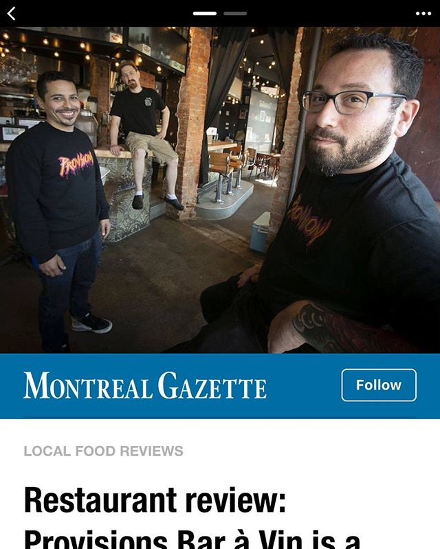 Thank you for the love @montrealgazette 🦄🦄🦄🦄🦄🦄