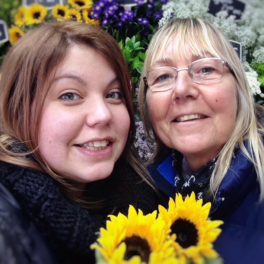 Me and my mum, Teresa.