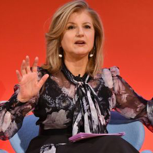 Arianna Huffington (Image credit: Slaven Vlasic | Getty Images)