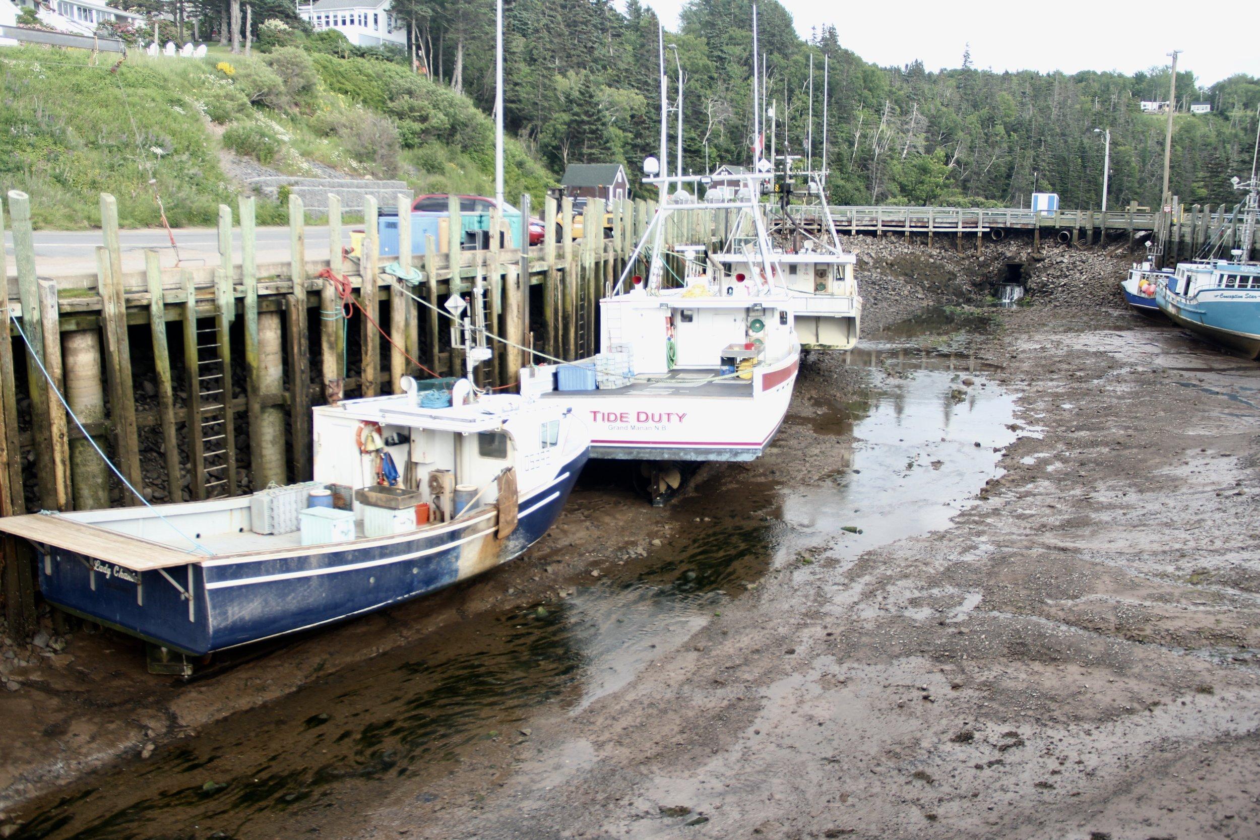 Halls Harbor-Low Tide