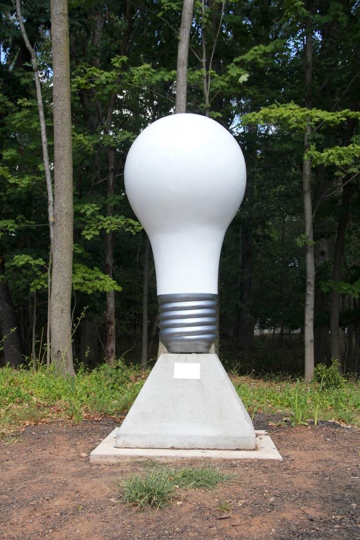 World's Largest Lightbulb in Menlo Park, NJ