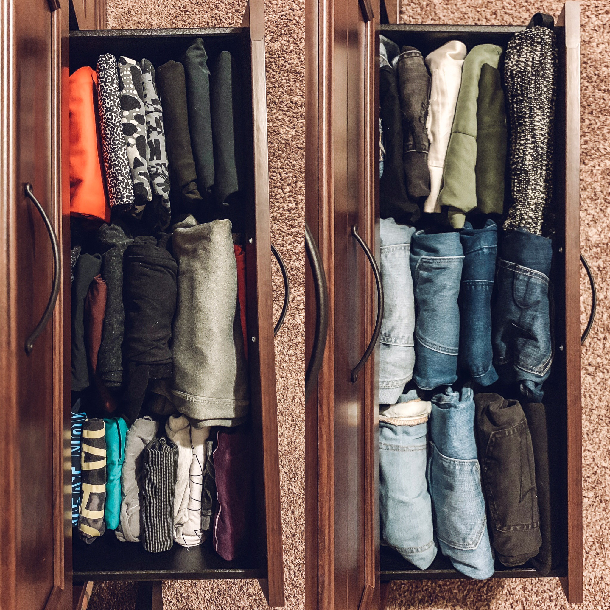 Organizing a cluttered space