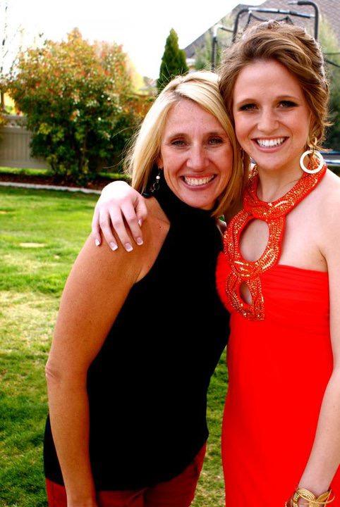 Gabi and mom