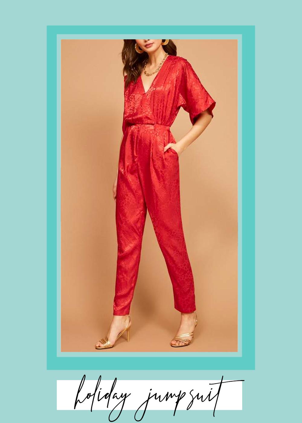 007. - Vintage Garnet Jumpsuit // $158