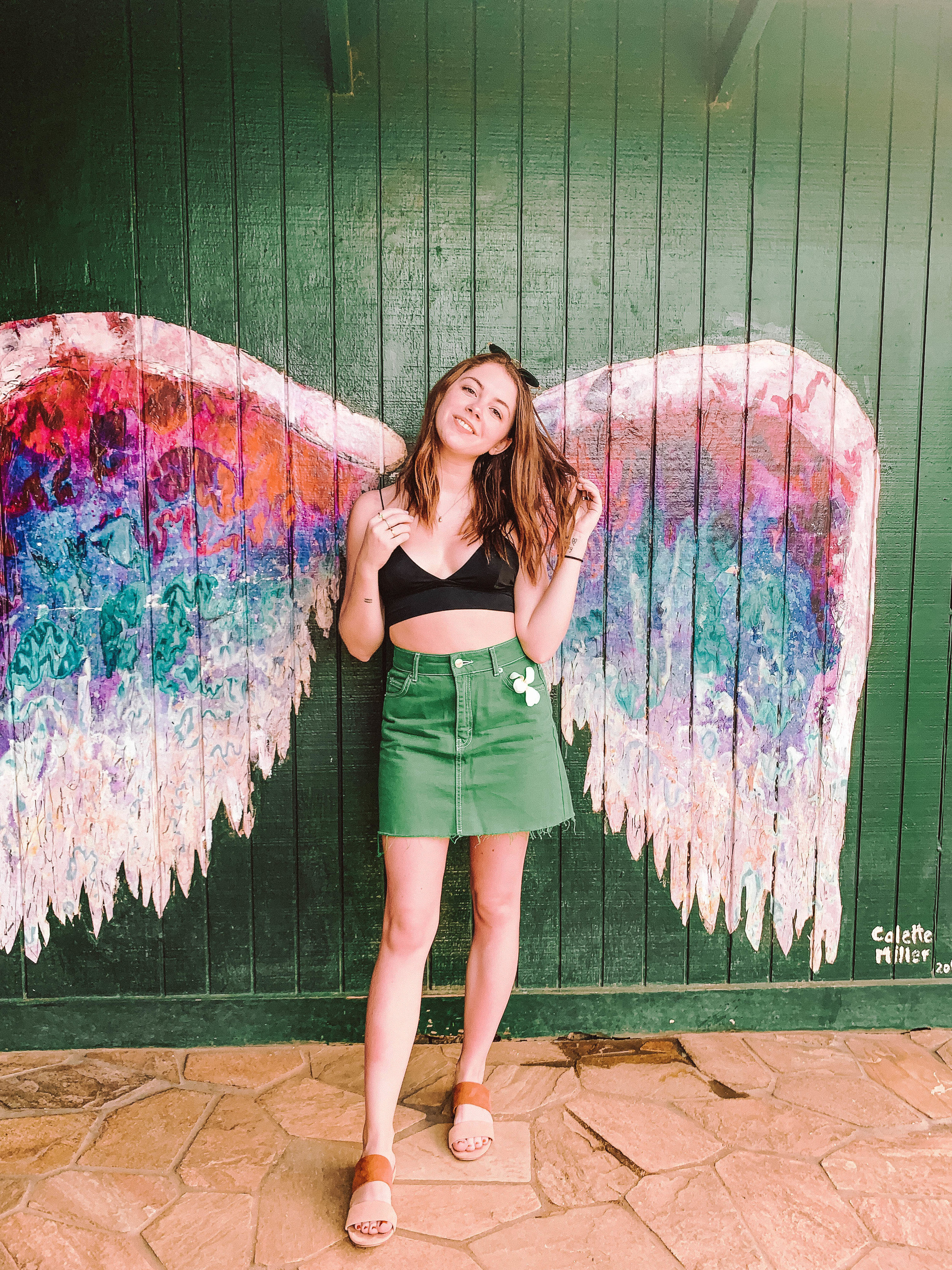 Colette Miller Wings - These are a Hawaii classic and you've probably seen every influencer you follow take photos here while in Hawaii. They're located right on the outskirts of Haleiwa, so make sure to stop to snap a quick photo while you're there!