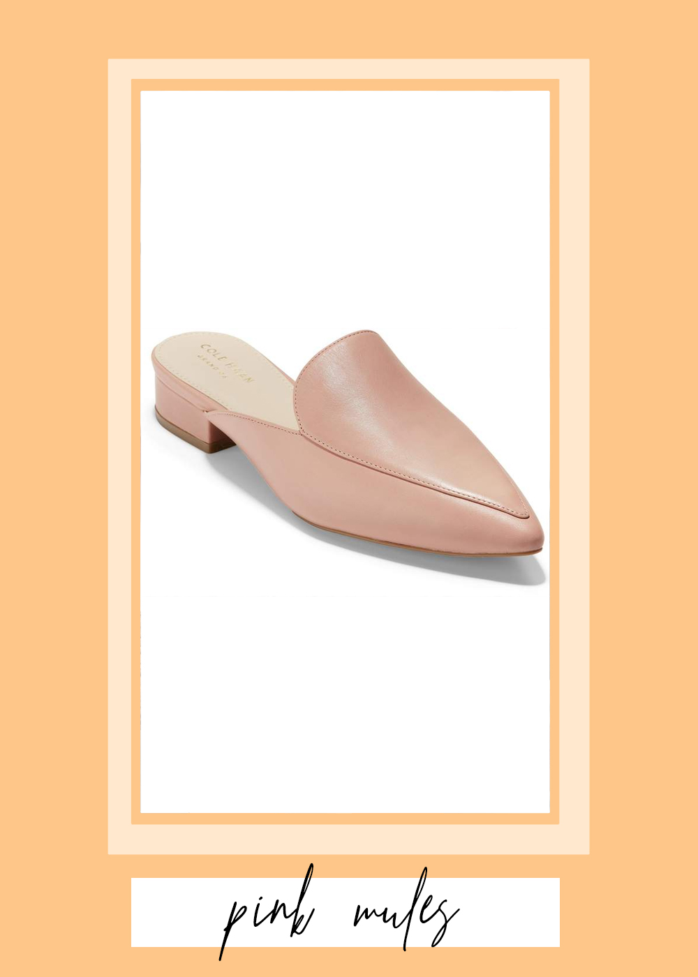 004. - Pink Mules // $100