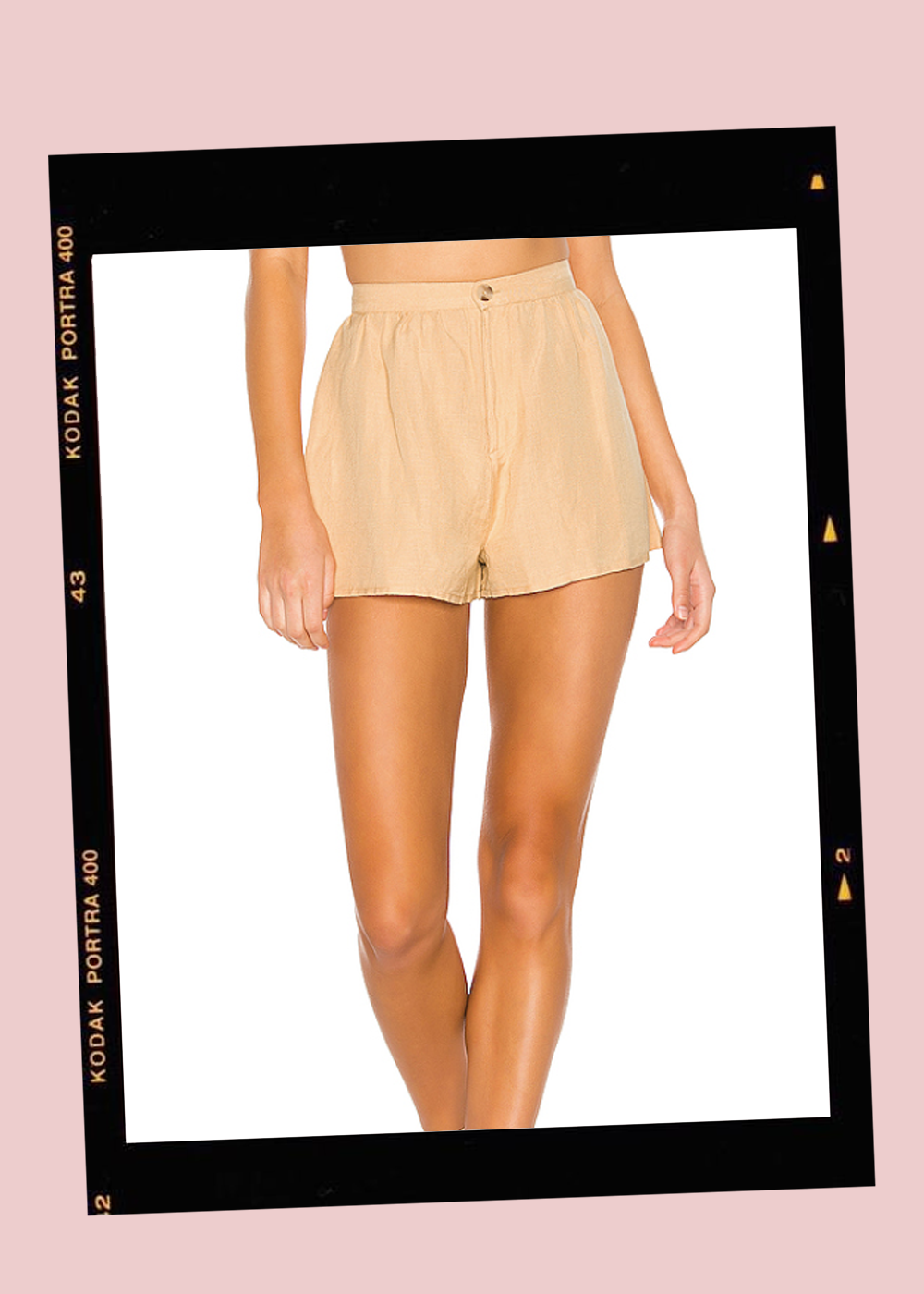 001. - High Waisted Shorts // $50Amuse Society