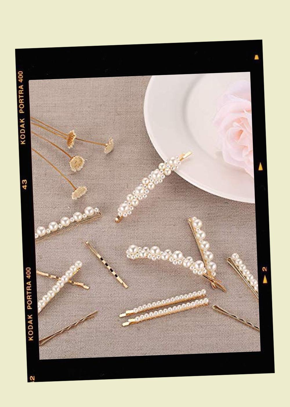 010. - Pearl Hair Pins // $10Amazon