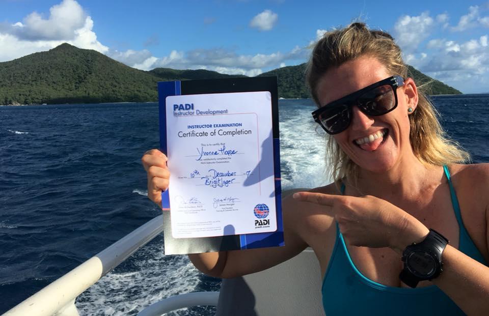 PADI dive instructor Yvonne certificate.jpg