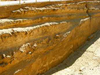 Boat pit erosion.Photo Gigal