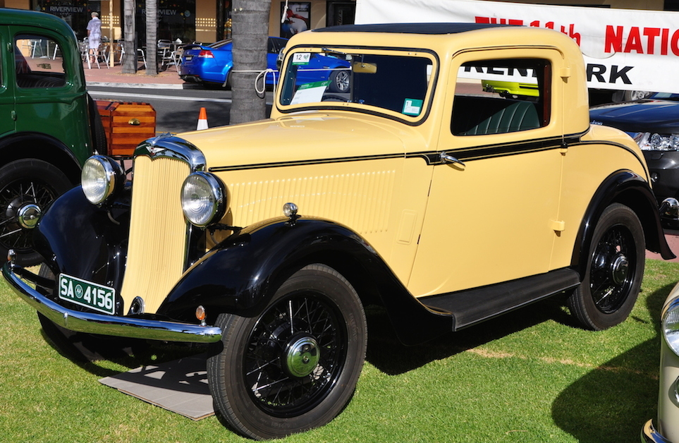 Image: 1935 Doctors Coupe owned by Gerald Uppill