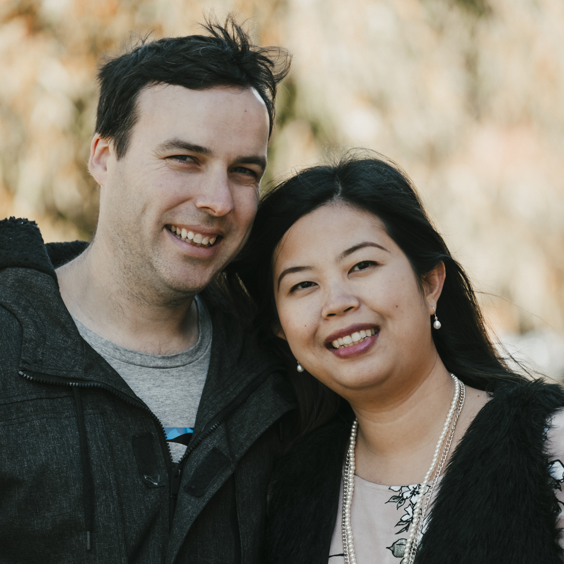 Matt & Christie Berry   Matt & Christie lead one of our Connect Groups that is connecting with many from Warrnambool's growing, Asian community.  Having both grown up in different parts of Indonesia, they are culturally rich and exceptionally hospitable…you'll never go hungry or asking questions from their Connect Group.  Matt and Christie serve in many areas of the church including on our preaching team.