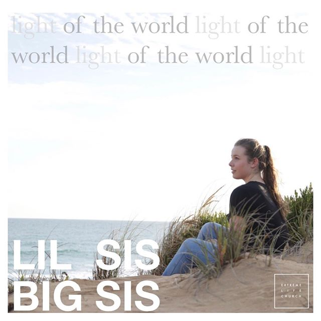 Lil Sis Big Sis launches for the year this Saturday 23rd March, 10am-12 at Extreme life Church. For all the girls and women, if you've ever wanted to be a part of it, now is the time, bring a friend! #lightoftheworld